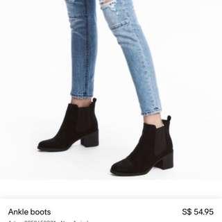 🍃H&m Black Boots