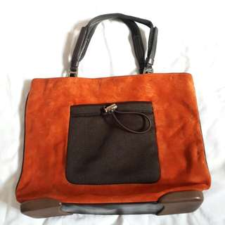 Pre-owned authentic prada tote bag