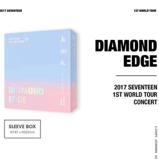 Seventeen Diamond Edge Dvd (2 Slots Left)