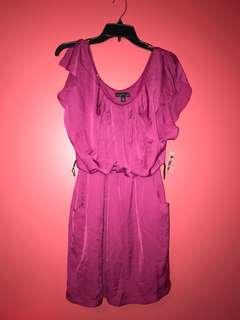 BRAND NEW Magenta Dress (Medium)