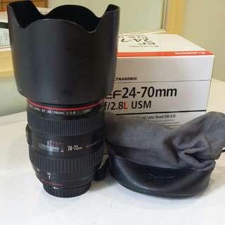 Canon ef 24-70 f2.8L