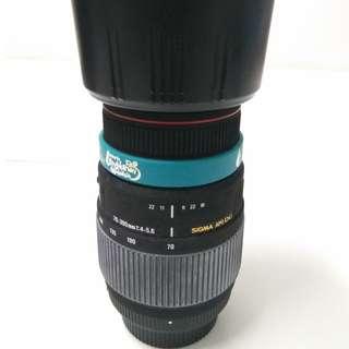 Sigma 70-300mm f/4-5.6 APO DG Macro Lens