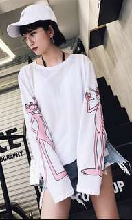 👚pink panther long sleeve👚