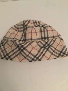 Authentic Burberry check baby hat