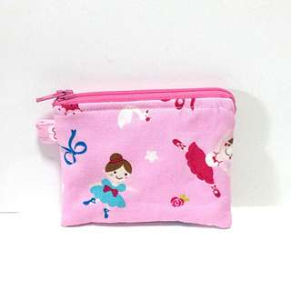Pink Ballerinas Coin Purse