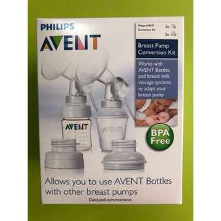 (Ready Stock) 💯Brand New In Box Philips AVENT BPA Free Standard Breast Pump Conversion Kit