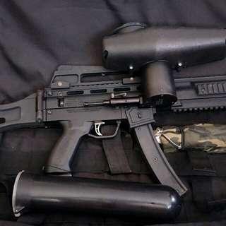 Paintball gun senapang