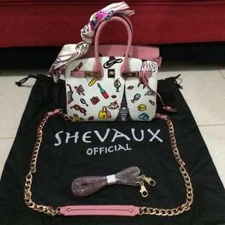 Shevaux Ladies Handbag 100% Leather
