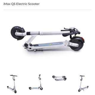 Very new LTA-approved e-scooter (REDUCED PRICE)