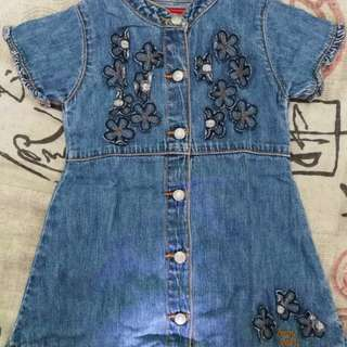 Toddler Denim Dress