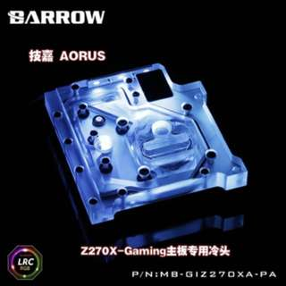 Barrow Mono Block for Gigabyte z370/270