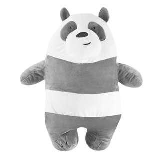 We bare bears Panda bear plushie travel pillow with blanket