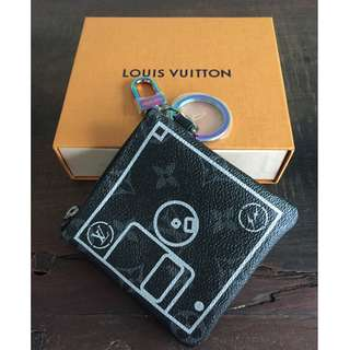 Louis Vuitton x Fragment design SMALL PURSE (coin bag)