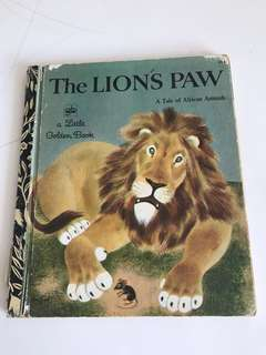 The Lions Paw - Little Golden Book