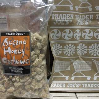 Trader Joe's Sesame Honey Cashews