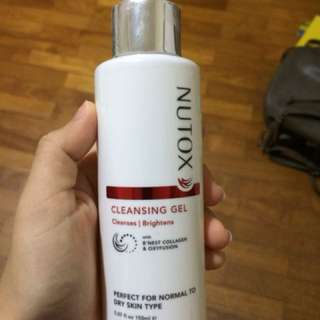 Nutox cleansing gel