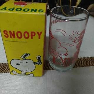 Snoopy玻璃杯(開pc滿99元免運)