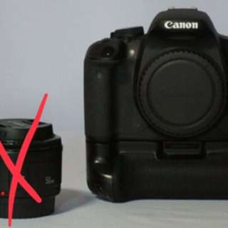 Canon 650D with Micro Lens
