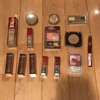 A)全新 化妝品合售