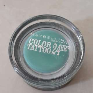 Maybelline color tatto eyeshadow cream 24hour