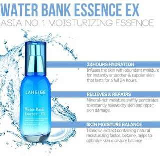 Laneige Water Bank Essence Ex (60ML)