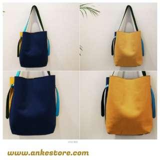 ANKE STORE NANING9 包 深藍色+黃色均碼 (現貨發售)