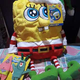 Spongebob stuffed toy