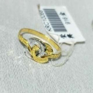💘916 Gold Ring Chanel💘