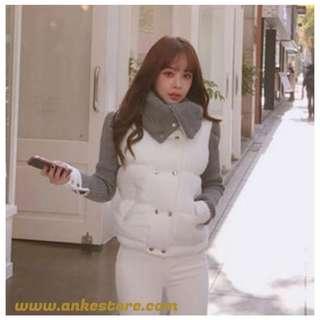 ANKE STORE mahoshop 棉服 白色均碼 (現貨發售)