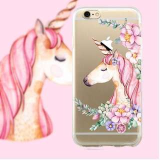 Custom Case - Watercolor Unicorn