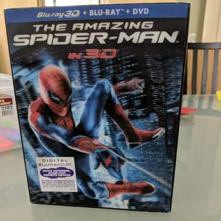 Amazing Spiderman 3D Bluray