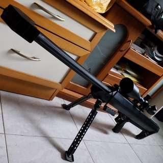 Barrett M82 M99 BIGSHOT SNIPER RIFLE /LEUPOLD MARK4 6-24x60 M1 Scope wargame