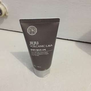Jeju volcanic lava clay nose mask from the face shop