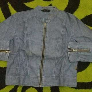 Crop Jacket Jeans Dust