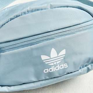 Adidas腰包 水藍