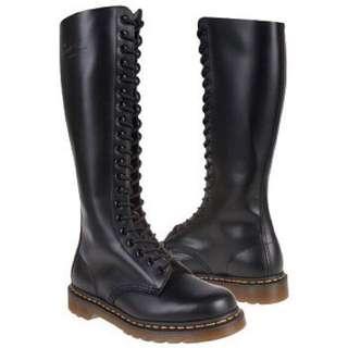 Knee High Doc Marten Boots!!