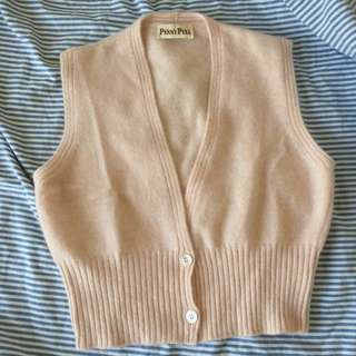 Price Down/ Penny Pull by MAX MARA Italy sleeveless sweater