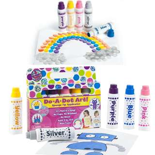 BNIB: Do A Dot Art! Markers 5-Pack Shimmer Washable Paint Markers, The Original Dot Marker