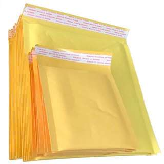 Bubble Wrapped Envelopes Golden Bags Waterproof Shockproof Packet