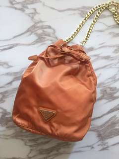 Prada mini bucket bag