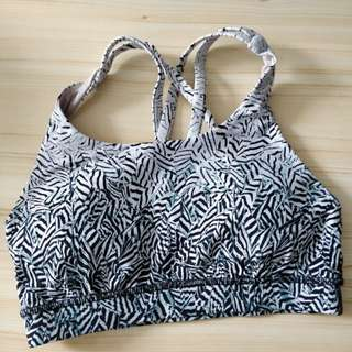 Nearly new Lululemon sport bra size 4