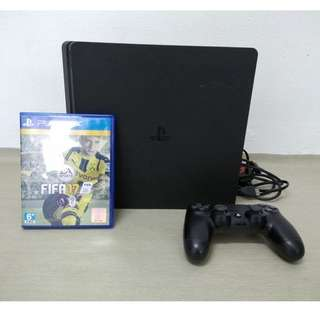 PS4 slim 500gig black