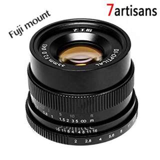 7artisans Manual Fixed lens 35mm/f2 (Fuji mount)