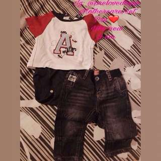 One set baby boy RM40