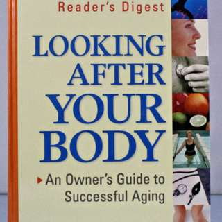 Looking After Your Body, 1995 Hardcover, Like New, never read