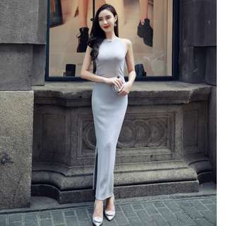 Elegant Basic Long Dress (PO)