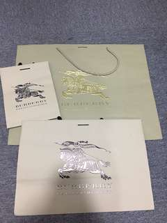 Burberry Paperbag