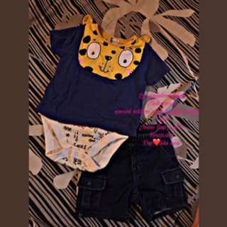 One set baby boy RM50