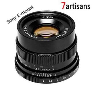 7artisans Manual Fixed lens 35mm/f2 (Sony E-mount)
