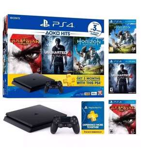 [PO] #1044 PS4 Slim 500GB Bundle